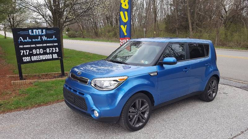 2015 Kia Soul for sale at LMJ AUTO AND MUSCLE in York PA