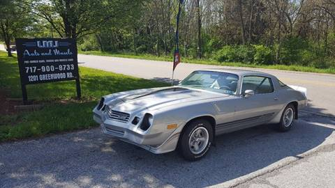 1980 Chevrolet Camaro for sale at LMJ AUTO AND MUSCLE in York PA