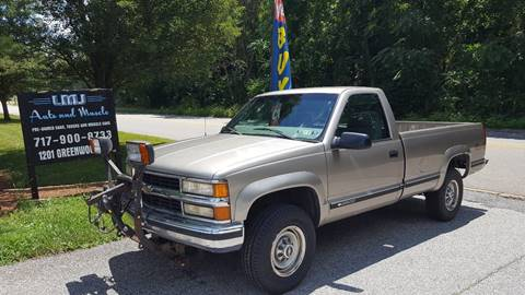 1999 Chevrolet C/K 2500 Series for sale at LMJ AUTO AND MUSCLE in York PA