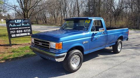 1990 Ford F-150 for sale in York, PA