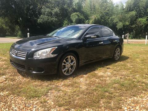 2012 Nissan Maxima for sale in Ovett, MS
