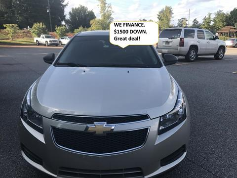 2013 Chevrolet Cruze for sale at Auto 4 Sale LLC in Alpharetta GA