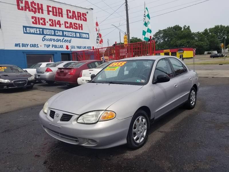 1999 Hyundai Elantra GL In Detroit MI - Detroit Cash for Cars