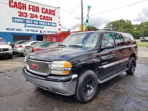 2002 GMC Yukon XL for sale in Detroit, MI