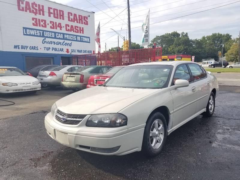2004 chevrolet impala ls in detroit mi detroit cash for cars 2004 chevrolet impala for sale at detroit cash for cars in detroit mi publicscrutiny Choice Image
