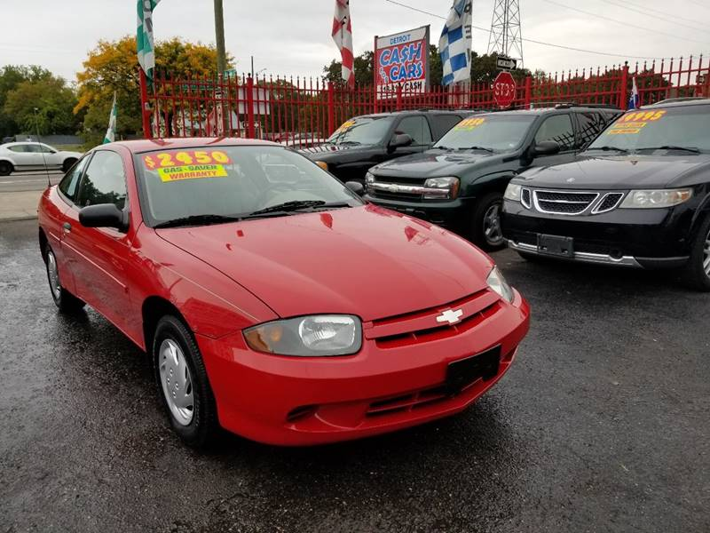 Chevrolet Cavalier Special Value In Detroit MI Detroit Cash - Chevrolet dealers detroit
