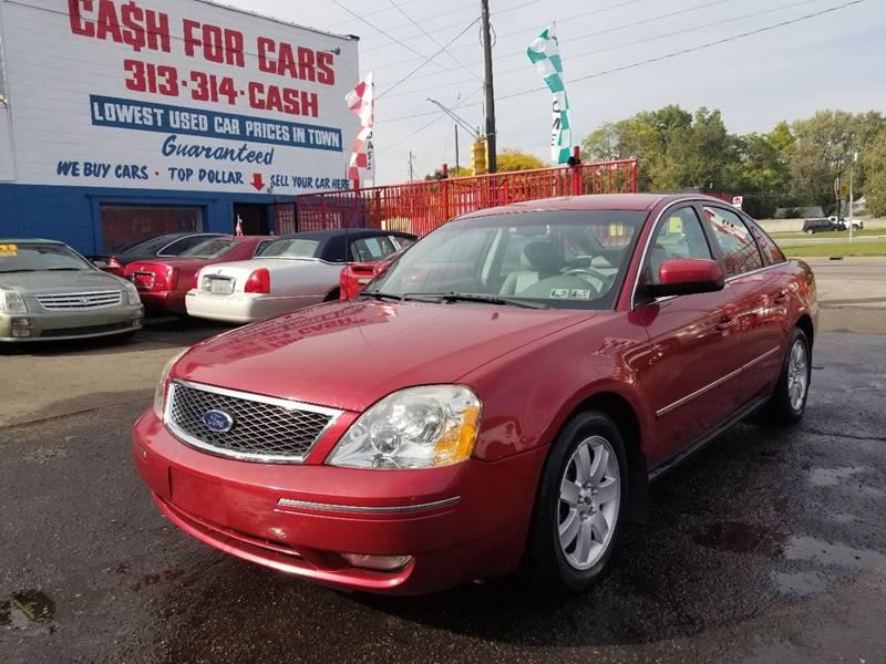 2005 Ford Five Hundred SEL In Detroit MI - Detroit Cash for Cars