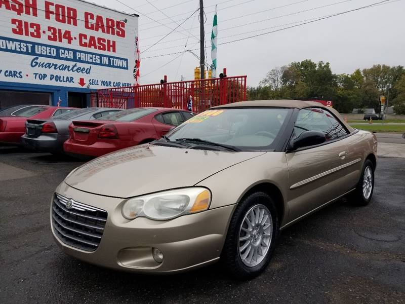 2004 Chrysler Sebring Touring In Detroit MI - Detroit Cash for Cars