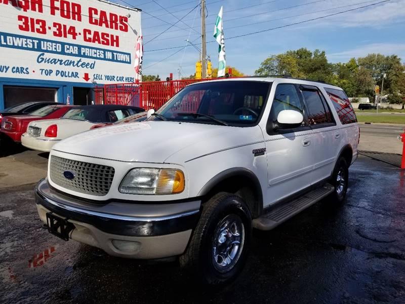 2002 Ford Expedition Eddie Bauer In Detroit MI - Detroit Cash for Cars