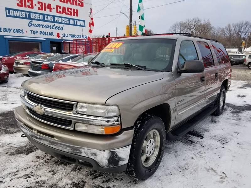 2000 Chevrolet Suburban 1500 LT In Detroit MI - Detroit Cash for Cars