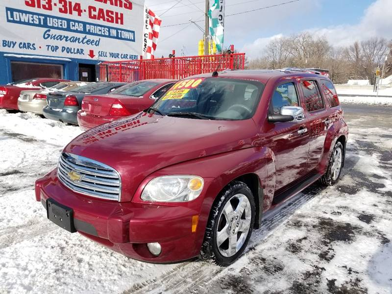 Chevrolet HHR LT In Detroit MI Detroit Cash For Cars - Chevrolet dealers detroit
