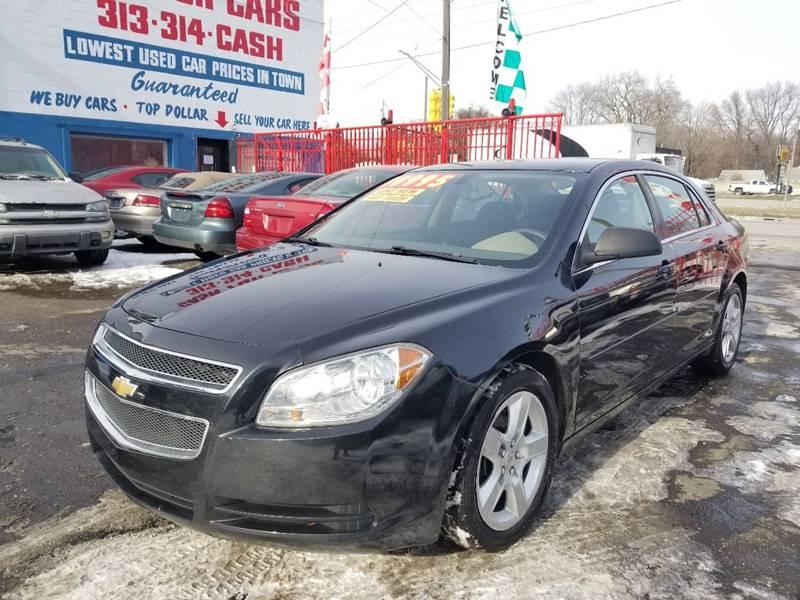 2012 Chevrolet Malibu LS In Detroit MI - Detroit Cash for Cars