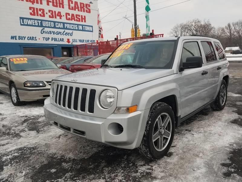 2008 Jeep Patriot Sport In Detroit MI - Detroit Cash for Cars