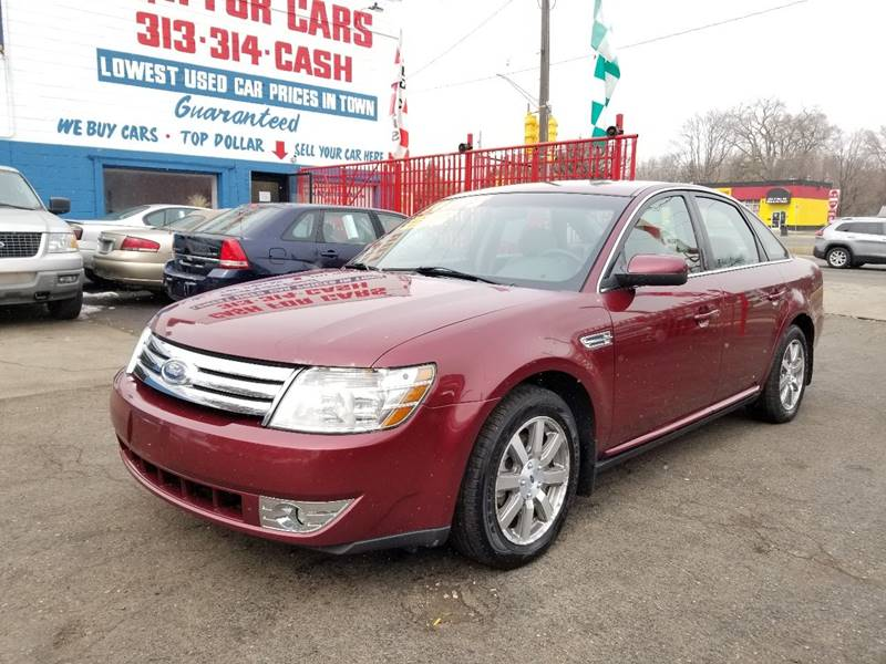 2008 Ford Taurus Sel In Detroit Mi Detroit Cash For Cars