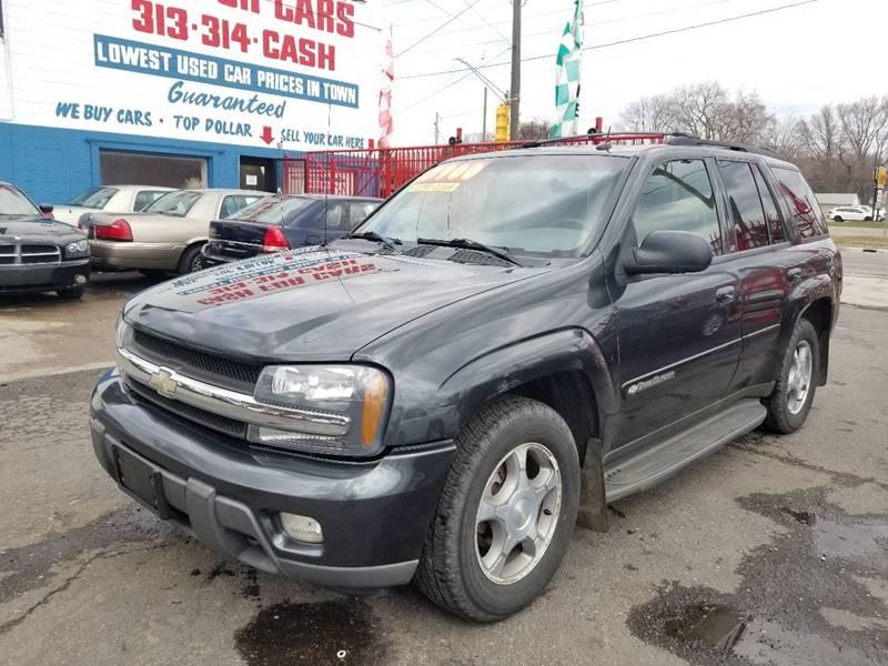 2004 Chevrolet TrailBlazer LT In Detroit MI - Detroit Cash for Cars