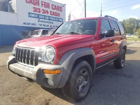 2004 Jeep Liberty for sale in Warren, MI