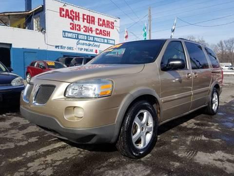 2005 Pontiac Montana SV6 for sale in Detroit, MI