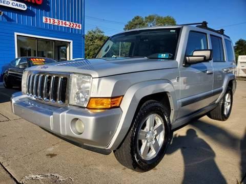 2007 Jeep Commander for sale in Warren, MI