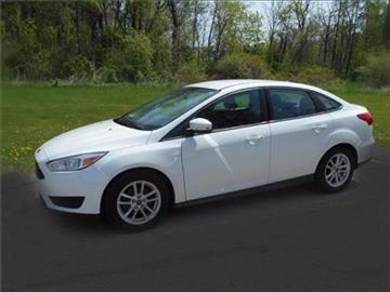 2015 Ford Focus for sale at Michigan Direct Auto Sales of Jonesville in Jonesville MI
