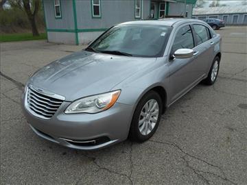 2014 Chrysler 200 for sale at Michigan Direct Auto Sales of Jonesville in Jonesville MI