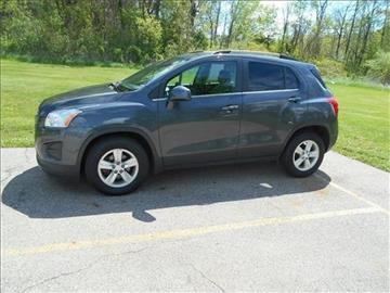 2016 Chevrolet Trax for sale at Michigan Direct Auto Sales of Jonesville in Jonesville MI