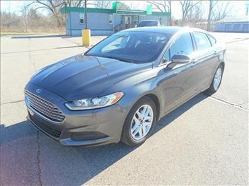 2015 Ford Fusion for sale at Michigan Direct Auto Sales of Jonesville in Jonesville MI