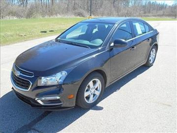 2016 Chevrolet Cruze Limited for sale at Michigan Direct Auto Sales of Jonesville in Jonesville MI