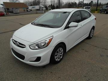 2015 Hyundai Accent for sale at Michigan Direct Auto Sales of Jonesville in Jonesville MI