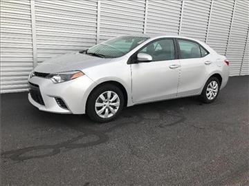 2015 Toyota Corolla for sale at Michigan Direct Auto Sales of Jonesville in Jonesville MI