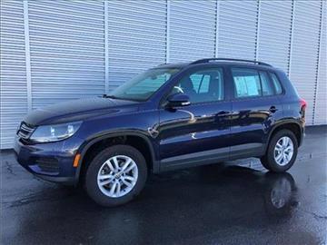 2016 Volkswagen Tiguan for sale at Michigan Direct Auto Sales of Jonesville in Jonesville MI