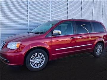 2014 Chrysler Town and Country for sale at Michigan Direct Auto Sales of Jonesville in Jonesville MI