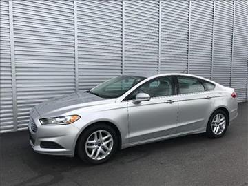 2014 Ford Fusion for sale at Michigan Direct Auto Sales of Jonesville in Jonesville MI