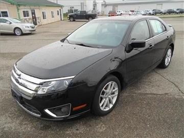 2010 Ford Fusion for sale at Michigan Direct Auto Sales of Jonesville in Jonesville MI