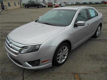 2012 Ford Fusion for sale at Michigan Direct Auto Sales of Jonesville in Jonesville MI
