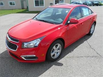 2015 Chevrolet Cruze for sale at Michigan Direct Auto Sales of Jonesville in Jonesville MI