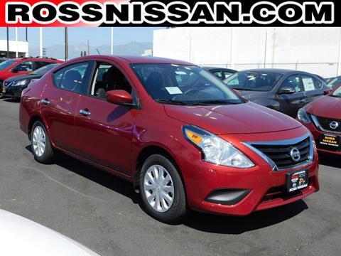 2017 Nissan Versa for sale in El Monte, CA