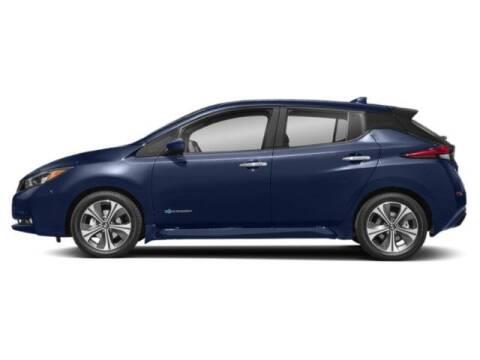 2020 Nissan LEAF SL PLUS for sale at ROSS NISSAN OF EL MONTE in El Monte CA