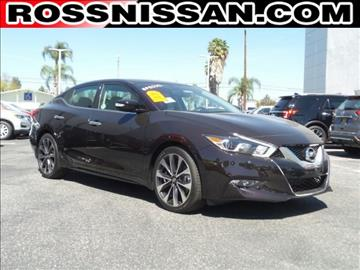 2016 Nissan Maxima for sale in El Monte, CA