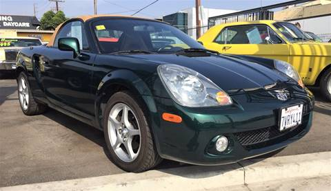 2003 Toyota MR2 Spyder for sale in Los Angeles, CA