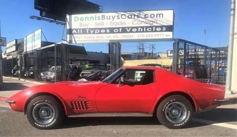 Used 1972 Chevrolet Corvette For Sale In California Carsforsale