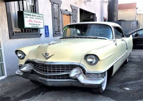 1955 Cadillac DeVille for sale at Dennis Buys Classic Cars in Los Angeles CA