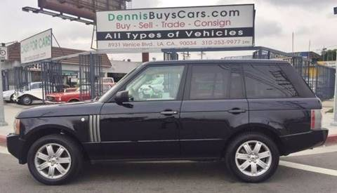 2007 Land Rover Range Rover HSE for sale at Dennis Buys Classic Cars in Los Angeles CA
