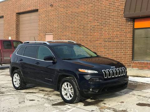 2015 Jeep Cherokee for sale at Effect Auto Center in Omaha NE