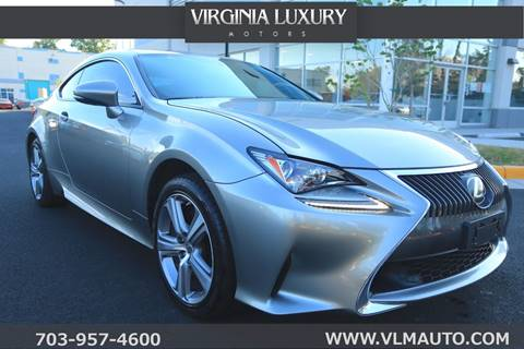 2015 Lexus RC 350 for sale in Chantilly, VA