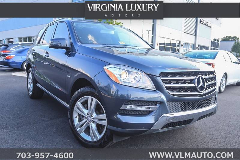 2012 Mercedes Benz M Class For Sale At Virginia Luxury Motors In Chantilly  VA