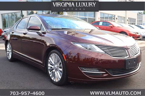 2013 Lincoln MKZ for sale in Chantilly, VA