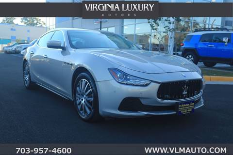 2014 Maserati Ghibli for sale in Chantilly, VA