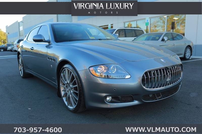 2009 Maserati Quattroporte S In Chantilly VA - Virginia Luxury Motors