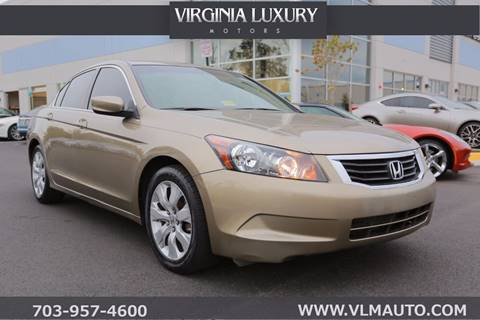 2010 Honda Accord for sale in Chantilly, VA