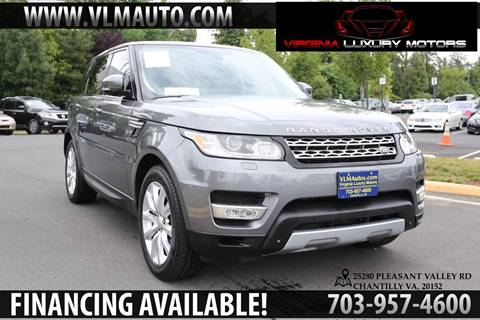 2015 Land Rover Range Rover Sport for sale in Chantilly, VA